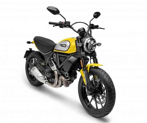 New Scrambler Ducati. Motorcycle tours Spain