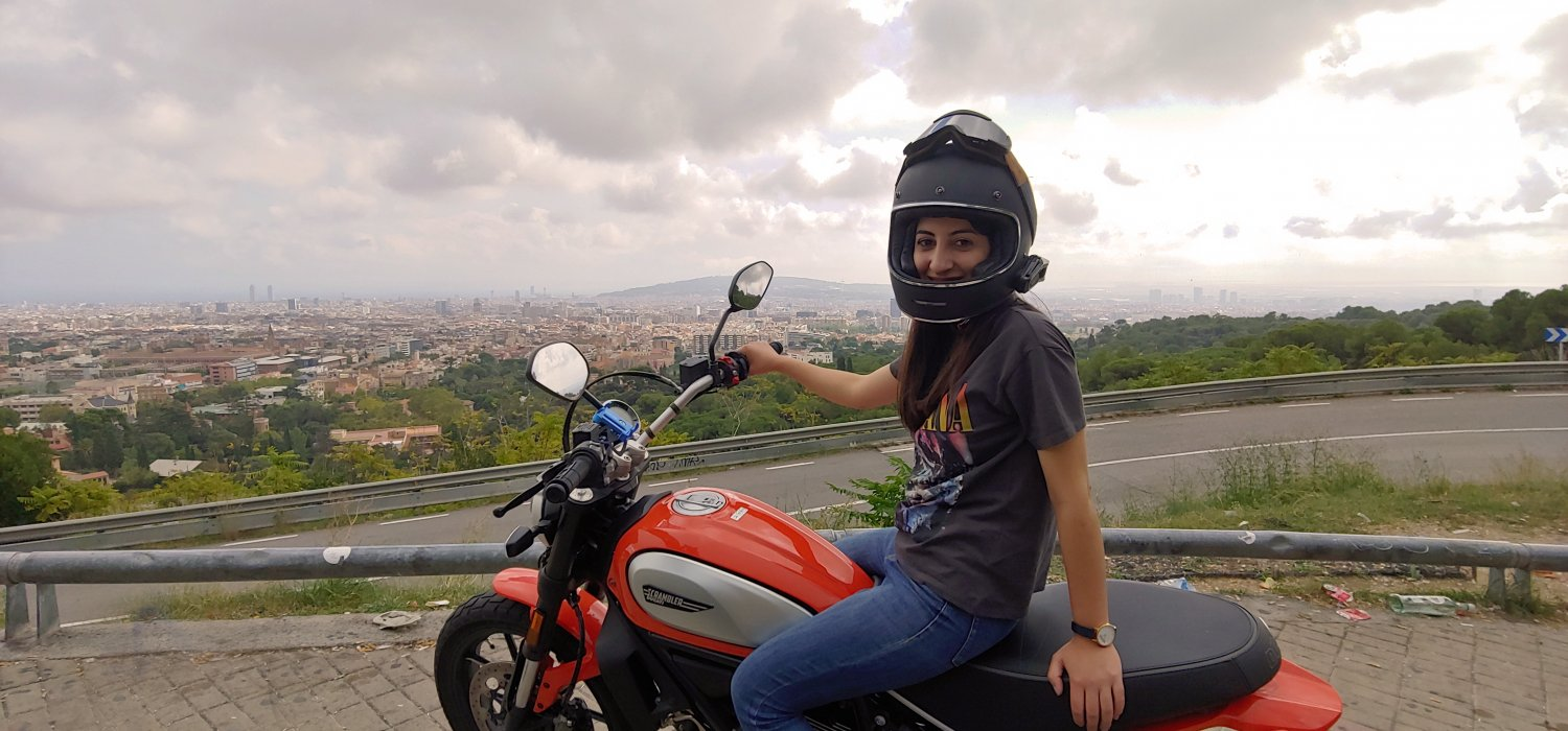 motorcycle tour Barcelona