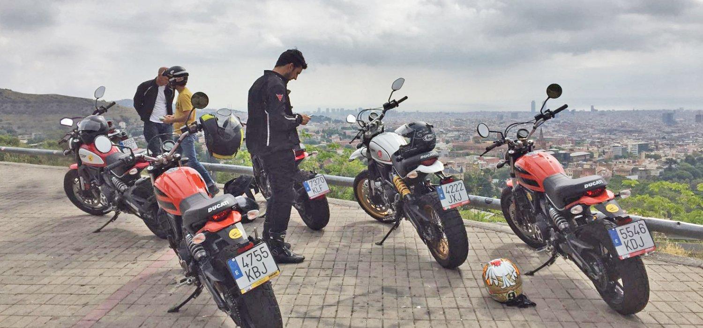 No highways. freedom. Motorcycle adventure