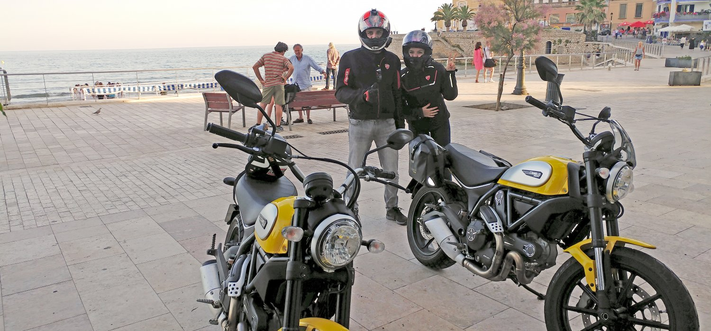 Sitges. Ducati Scrambler
