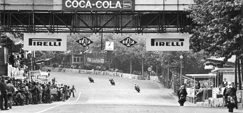 Circuit Montjuic. Ducati