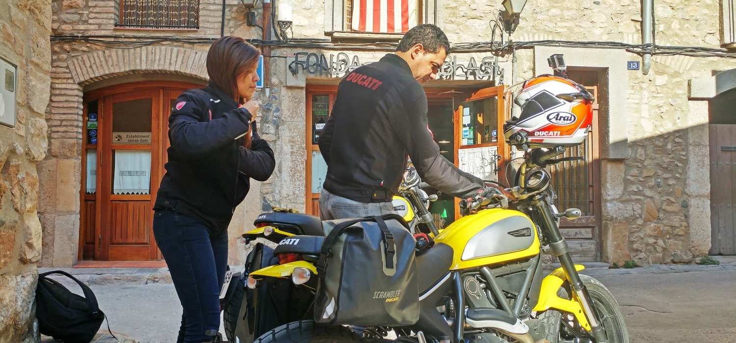Guided tours Ducati Scrambler, Montblanc